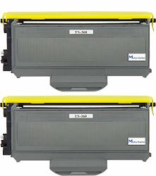 2 PC TN360 Metro Market Premium New Compatible Brother TN360 TN330 Black Toner Cartridge For Brother HL-2140 HL-2170W DCP-7030 DCP-7040 MFC-7340 MFC-7345N MFC-7440N MFC-7840W