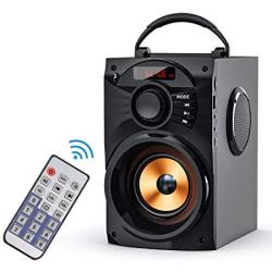 Portable Eifer Bluetooth Speaker Subwoofer Heavy Bass Wireless Outdoor Speaker MP3 Player Line In Speakers Support Remote Contro