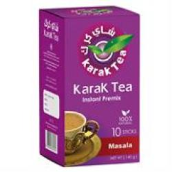 Karak Tea Intant Premix Masala 10 Sticks Sweetened Retail Box No Warranty