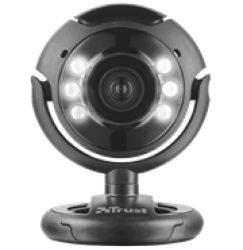 Trust TRS-16428 Spotlight Webcam Pro Black Retail Box 1 Year Limited Warranty Product Overview:this USB Powered Web Camera Has A 1.3 Megapixel High Definition