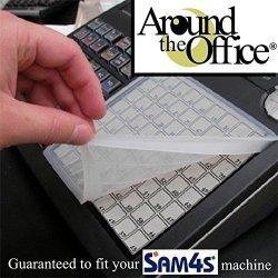 SAM4S & Samsung ER-5100 Cash Register Keyboard Wetcover Custom Designed For SAM4S & Samsung ER5100 Made For Heavy Use And Extreme Liquid Protection By