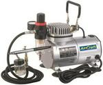 Air Craft Compressor airbrush Kit W hose as18-2
