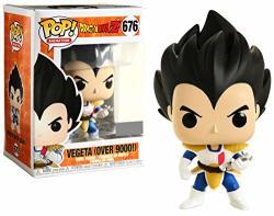 Funko Pop Dragon Ball Z Vegeta Over 9000