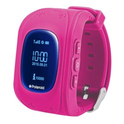 Polaroid PMOJI2 Gps Tracking Kids Watch - Pink