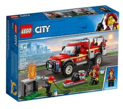 Lego City Fire Chief Response Truck