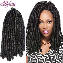 Befunny 6packs 12inch Soft Dread Crochet Hair Short Faux Locs