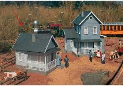 USA Piko G Scale Model Train Buildings - Uncle Sam's Farmhouse - 62226