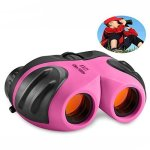 TOP Gift Toys For 3-12 Year Old Girls Compact Binocular For Kids Gifts For Teen Girl Birthday Presents Pink TG010