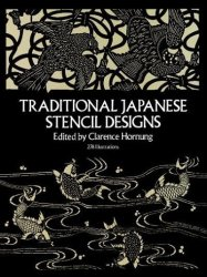 Traditional Japanese Stencil Designs paperback