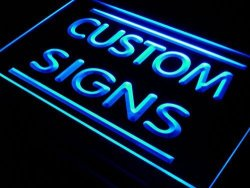 ADV PRO Tm Custom Sign Your Own Design