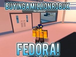 Deals On Clip Buying A Million Robux Fedora Compare Prices