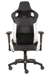 : T1 Race Gaming Chair Black And White PC