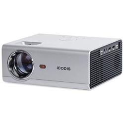 Icodis T400 MINI Projector 3800 Lumens 720P Native Resolution Full HD 1080P Supported Compatible With Smartphone Tablet PS4 P
