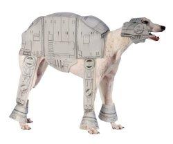 Rubies Decor Star Wars At-at Pet Costume Medium