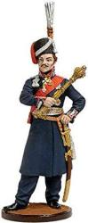 Ataman Of The Don Cossack Army Tin Toy Soldiers Metal Sculpture Miniature Figure Collection 54MM Scale 1 32 NAP-60-COLOR