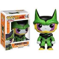 USAB Funko Perfect Form Cell: Dragonball Z X Pop Animation Vinyl Figure & 1 Pop Compatible Pet Plastic Graphical Protector Bundle 013 03992 - B