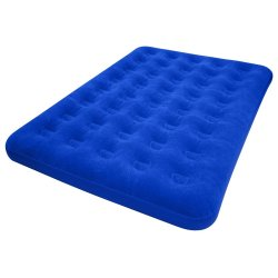 Discovery - Double Airbed With Flocking