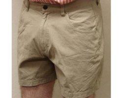 John Deere Clothing Short Mens 5 Pocket Khaki 26