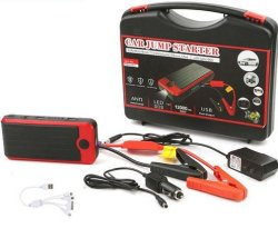 T6 Car Jump Starter 12000MAH Emergency Start Power Bank LED Torch