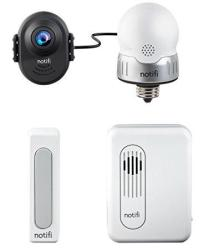 Heath zenith SL-3010-00 Notifi Video Doorbell System