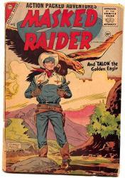 Masked Raider 5 1956- Charlton Western- Silver Age P f