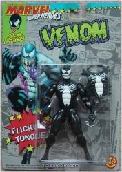 Toy Biz Marvel Super Heroes Venom Action Figure 5 Inches