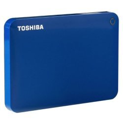 Toshiba Canvio Advance 2.5 External Hard Drive USB 3.0 1TB Blue
