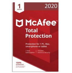 McAfee Total Protection 2020 1 Device 1 Year