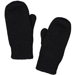 Polarn O. Pyret Soft Merino Wool Mitten 6MOS-2YRS - 1-2 Years black
