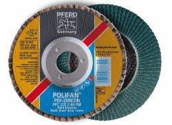 PFERD Polifan Wheels Pff 115-22 Z80 Psf -zircon