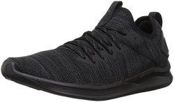 Puma Men's Ignite Flash Evoknit Sneaker Black 10.5 M Us