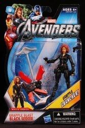 Hasbro Marvel Avengers Movie 4 Inch Action Figure Grapple Blast Black Widow Grapple Launcher