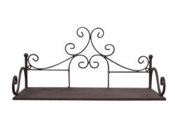 Lovethyhome Metal Display Wall Shelves & Wine Rack Free Shipping - Metal Shelf Wall Display 1 46X23CM