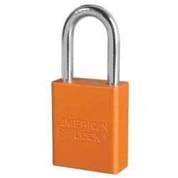 American Lock 1106 Aluminium Padlock Orange