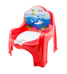 Baby Potty Chair.red