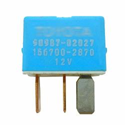 TIKSCIENCE Air Conditioner Relay For Toyota Lexus And Scion Vehicles Compressor Relays A c Clutch Fan Compatible 156700-2870 90987-02027