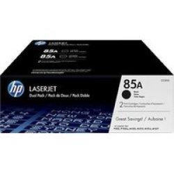 HP 85A Laserjet Black Print Cartridge - Dual Pack