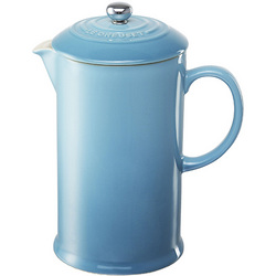 Le Creuset 800ml Caribbean Blue French Press Coffee Plunger