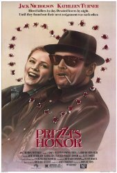 Honor Prizzi's Poster Movie 27 X 40 Inches - 69CM X 102CM 1985