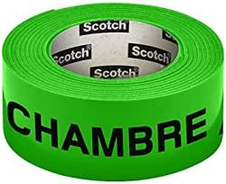 USA Scotch 300154G Pre-printed Neon Neon Room Tape 30 Mm X 50 M Green