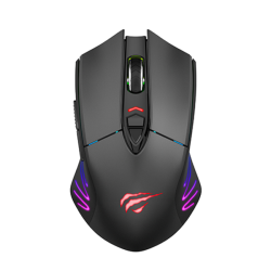 MS1021 Respawn 7000DPI Wireless Dual Gaming Mouse - Black