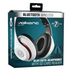 Impulse Series Bluetooth Wireless Headphones White