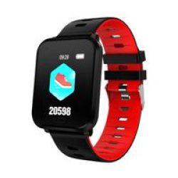 BitByte K10 Multi Sport Watch Red
