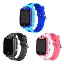 KIDS D06 Smart Watch IP67 Waterproof Digital Children Wristwatch Sos Call Locator Anti Los - Pink