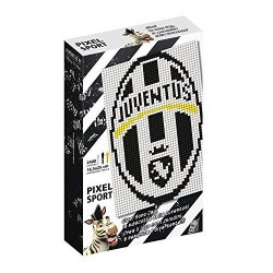 Quercetti 0778 Pixel Art Sport - Juventus Football Club Arms 2 Tab Made In Italy