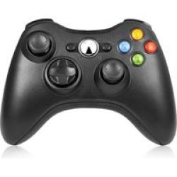 Wireless Controller For Xbox 360 Black