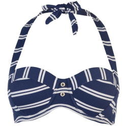 fb106607e Soulcal Ladies Nautical Bikini Top - Navy Prices | Shop Deals Online ...
