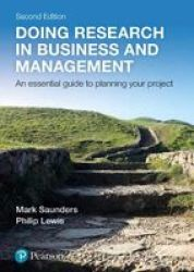 Doing Research In Business And Management Paperback 2ND Edition