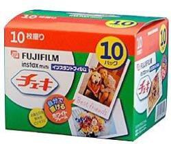 Fujifilm Instax MINI Cheki Film 10PACK 10PICTURE X10