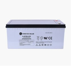Ashcom 250AH 12V Deep Cycle Solar Gel Battery 68.5KG